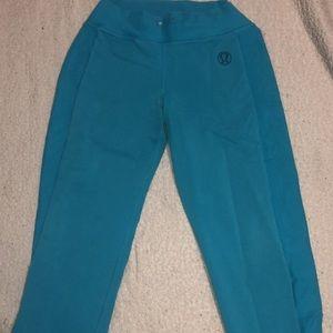 Blue Lululemon Sweatpants